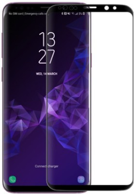 Nillkin Edge To Edge Tempered Glass for Samsung Galaxy S9 Plus 9D DS+ Max 9D(Pack of 1)