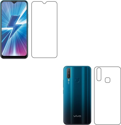 Sajni Creations Front and Back Screen Guard for Vivo Y17