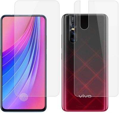 Case Creation Front and Back Screen Guard for Vivo V15 Pro(Pack of 2)