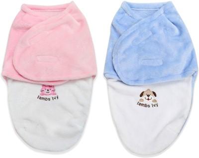 Bembika Organic Cotton Baby Swaddle Cocoon Sack Sleeping Bag(Pink)