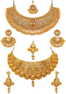 Sukkhi Alloy Jewel Set(Yellow) at flipkart