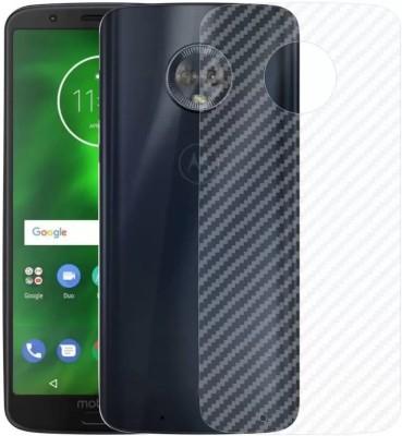 MRNKA Back Screen Guard for Motorola Moto G6 Play(Pack of 1)
