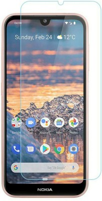BIZBEEtech Tempered Glass Guard for nokia 4.2(Pack of 1)