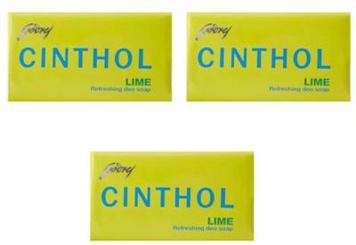 Cinthol Epic Lime Soap (450 g, Pack of 3)(450 g)