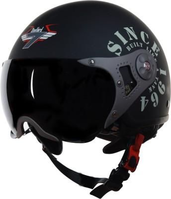 Steelbird SB-27 7Wings Tank Motorbike Helmet(Matt Black/Military Green)