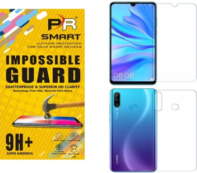 PR SMART Front and Back Tempered Glass for Huawei P30 Lite(Pack of 1)