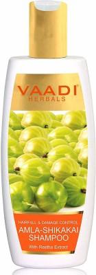 Vaadi Herbals Hair Fall & Damage Control Amla-Shikakai Shampoo(350 ml)