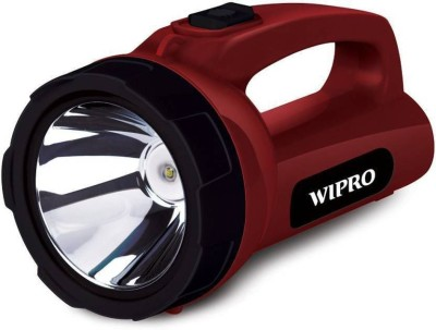 Wipro Emerald Torch(Maroon : Rechargeable)