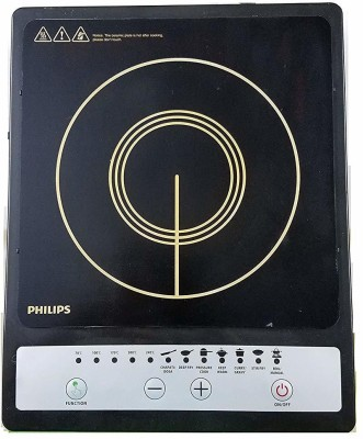 Philips HD4920 Induction Cooktop(Black, Push Button) at flipkart