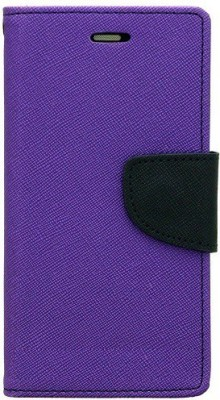 Krumholz Flip Cover for Lava Z60(Purple)