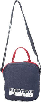 Puma Men & Women Blue Messenger Bag