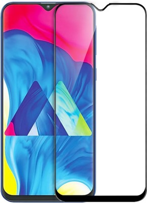 GALEX Edge To Edge Tempered Glass for Samsung Galaxy M10 5D Full Glue Tempered Glass (Black) |5D Tempered Glass For Samsung M10(Pack of 1)