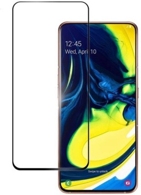 Kavacha Edge To Edge Tempered Glass for Samsung Galaxy A80(Pack of 1)