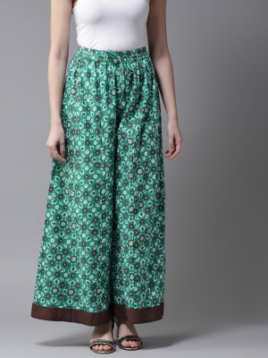 Moda Rapido Relaxed Women Green Trousers at flipkart