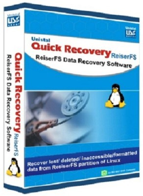 Unistal Quick Recovery - Linux (ReiserFS) Data Recovery Software(1 year, 1 PC)