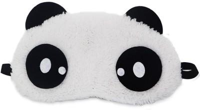 Jonty Dot Panda Travel Sleep Cover Blindfold Eye Shade Multicolor Jonty Neck Pillows   Eye Shades