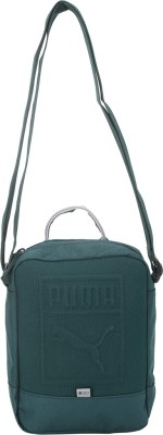 Puma Men & Women Green Messenger Bag