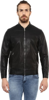 Mufti Full Sleeve Solid Men Jacket at flipkart