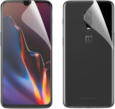 Case Creation Front and Back Screen Guard for OnePlus 6T(Pack of 2)