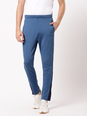 ether Solid Men Blue Track Pants at flipkart