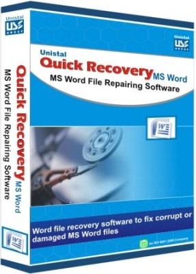 Unistal Quick Recovery - Microsoft Deleted Word File Data Recovery Software(1 year, 1 PC)