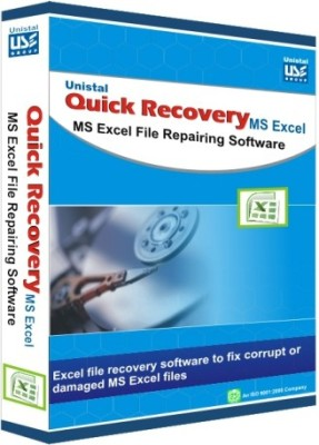 Unistal Quick Recovery - Microsoft Excel Data Recovery Software(1 year, 1 PC)