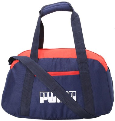 Puma Plus Sports Bag II Gym Bag(Blue)