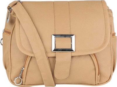 Fairdeals Beige Shoulder Bag Fairdeals Sling Bags