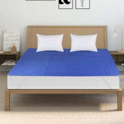 Sleep Matic Fitted King Size Waterproof Mattress Protector(Maroon)