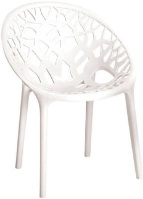 Nilkamal Plastic Outdoor Chair(MILKEY WHITE)