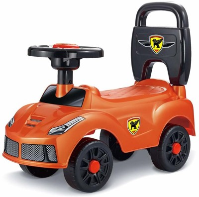 Webby Baby Kids Outdoor Walker Ride On Push Car Toy(orange)(Orange)