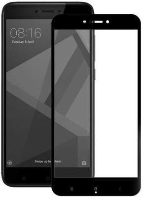 Couniver Edge To Edge Tempered Glass for Mi Redmi Note 4(Pack of 1)