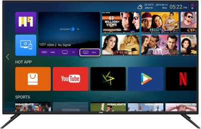 View HOM 98cm (39 inch) HD Ready LED Smart TV(HOMHS3871)  Price Online