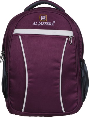 Al Jazeera Stylish Fashionable School Bag College Bag For Boys and Girls 20 L Backpack(Purple)
