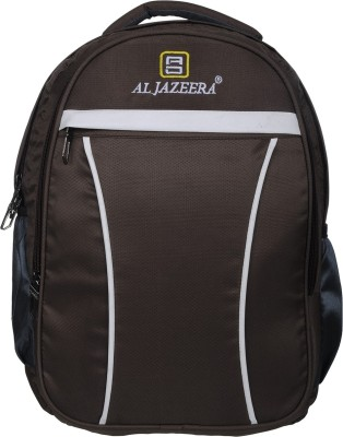 Al Jazeera Stylish Fashionable School Bag College Bag For Boys and Girls 20 L Backpack(Brown)