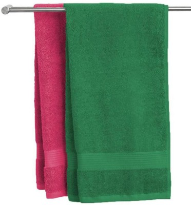 Angel Mommy Cotton 530 GSM Bath Towel Set(Pack of 2)