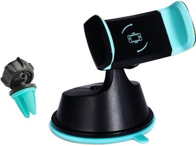 PHOLOR Car Mobile Holder for Windshield Black