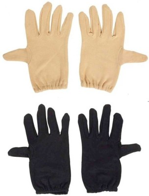 Staffy Solid Protective Women Gloves