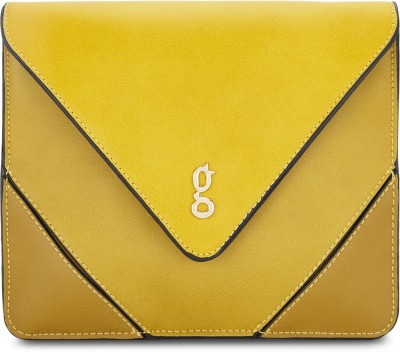 Global Desi Yellow Sling Bag