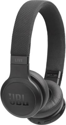 JBL Live 400 BT Wireless Bluetooth Earphones (Black)