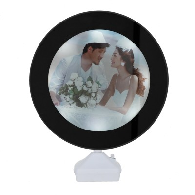 AMISHI ENTERPRISES MDF Photo Frame(Black, 1 Photos)