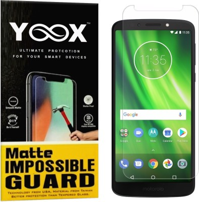 YOOX Impossible Screen Guard for Motorola Moto G6 Play(Pack of 1)