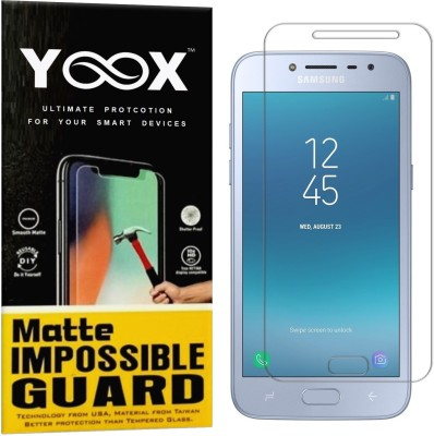 YOOX Impossible Screen Guard for Samsung Galaxy J2 2018(Pack of 1)