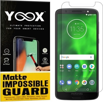 YOOX Impossible Screen Guard for Motorola Moto G6(Pack of 1)