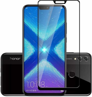 True Desire Tempered Glass Guard for Full Body 9H Tempered Glass, Full Edge-to-Edge Curved Screen Protector for Huawei Mate 20 Pro - (Black) with Free Installation Kit