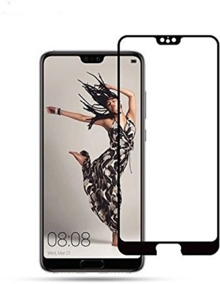 True Desire Tempered Glass Guard for 3D Black Colour with 9H Hardness Full Coverage Tempered Glass Screen Protector with Latest Full Glue Technology for Huawei Honor 10/Honor 10 2018 Model(Pack of 1)