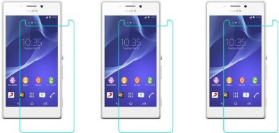 Coverage Screen Guard for Sony Xperia M2(Pack of 3)