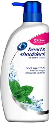 HEAD & SHOULDERS ANTI-DANDRUFF SMOOTH AND SILKY COOL MENTHOL SHAMPOO(675 ml)