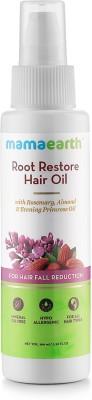 MamaEarth Root Restore Hair Oil 100ml with Bhringraj, Jojoba, Almond, Olive, Rosemary Oil and Vit. E Hair Oil(100 ml)