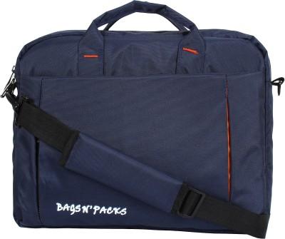 BAGS N PACKS 15 inch Laptop Messenger Bag Blue